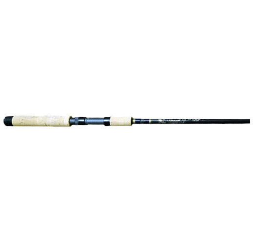 "AAP 1pc 6'6"" ML Spin, 6 to 10LB, Fixed Reel Seat for Drop Shot, Walleye, Bass, Fluke"