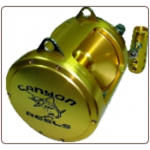 Cannon's EX Series Two Speed Trolling Reel