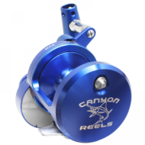 Cannon's HS-18 High Speed Jigging Trolling Reel In Blue